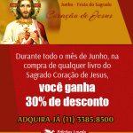 Promoção – Mês do Sagrado Coração de Jesus – Edições Loyola
