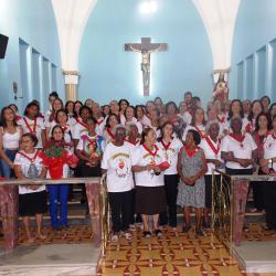 105 anos do Apostolado da Oração da Paroquia Nossa Senhora da Saúde, Perdigão - Diocese de Divinópolis, MG