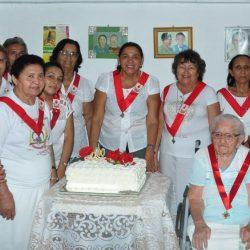 100 Anos da zeladora Raimunda Alice da Paróquia Do Sagrado Coração de Jesus - Grossos - Diocese de Mossoró, RN