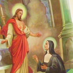 Santa Margarida Maria de Alacoque