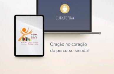 Apresentação do novo aplicativo de oração do Papa, Click To Pray 2.0 (Beta)
